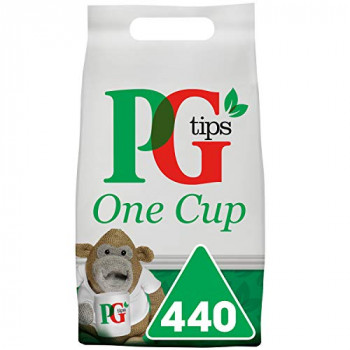 PG Tips Catering One Cup Pyramid Tea Bags. - Pack Size = 1x440