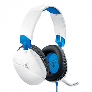 Turtle Beach Recon 70P White Gaming Headset for PS4, Xbox One, Nintendo Switch And PC