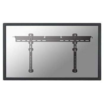 "Newstar Flatscreen Wall Mount 37-75"", 1 screen, fixed, ultrathin, Vesa 200x200 to 800x400mm, Spirit Level, Lockable, Max 50kg, Black"