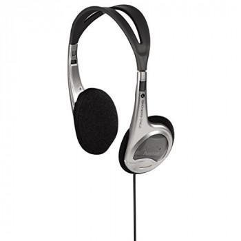 Hama HK - 90-On-Ear-Stereo Headphones-Silver