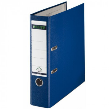 Leitz 180Deg Plastic Lever Arch File A4 80 mm (Blue) - Pack of 10