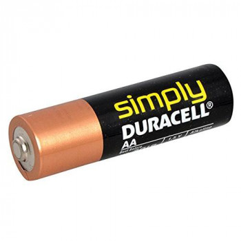 Duracell DUR002241 Non Rechargeable Battery Non Rechargeable Batteries (Alkaline CYLI NDRICAL, AA, Black, Gold)