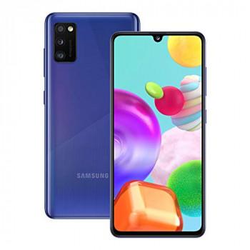 Samsung Galaxy A41 Mobile Phone; Sim Free Smartphone - Prism Crush Blue (UK Version)