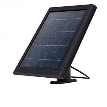 Ring Solar Panel for Spotlight Cam Battery, keep your security camera always charged, Black