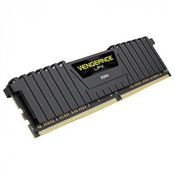 Corsair CMK32GX4M2Z2400C16 Vengeance LPX 32 GB (2 x 16 GB) DDR4 2400 MHz C16 XMP 2.0 High Performance Desktop Memory Kit for AMD Ryzen and Intel 200, Black