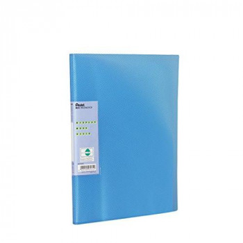 Pentel Recycology Display Book with 30 Vivid Pocket - Blue
