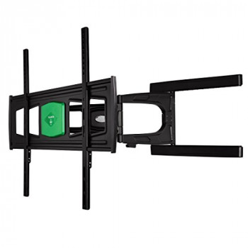 Hama Ultraslim Size XL Fullmotion Wall Bracket for TV with 2 Arms - Black