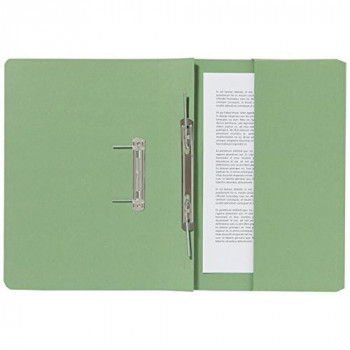 GUILDHALL 347-GRNZ Pocket Spiral File - Green