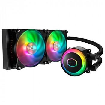 Cooler Master MasterLiquid ML240R RGB 240mm All-in-One CPU Liquid Cooler with RGB Illumination