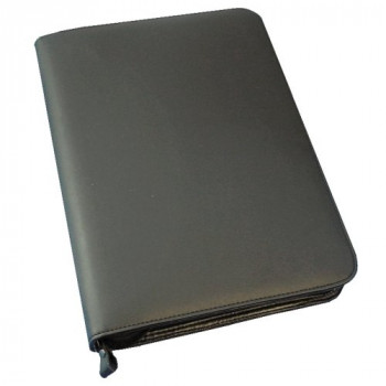 Monolith Conference Folder With Pad Clip A4 Black