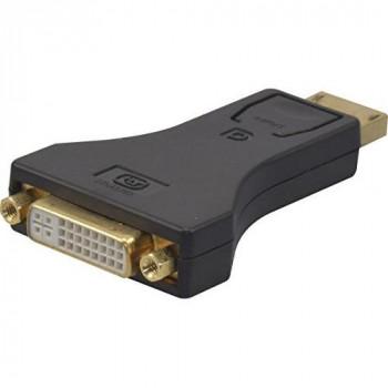 Connect DisplayPort 1.1 to DVI-D Converter - Black