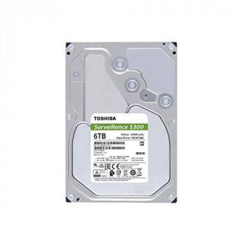 "Toshiba HDWT360UZSVA 6TB S300 3.5"" Surveillance Hard Drive"