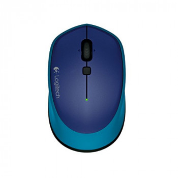 Logitech M335 Wireless Mouse for Windows, Mac and Chrome - Blue