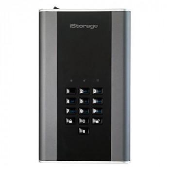 iStorage IS-DT2-256-1000-C-G 1TB diskAshur DT2 USB 3.1 secure encrypted desktop drive