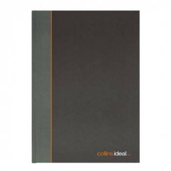 Collins 6421 Ideal Case Bound A4 Single Cash Book 192 Pages