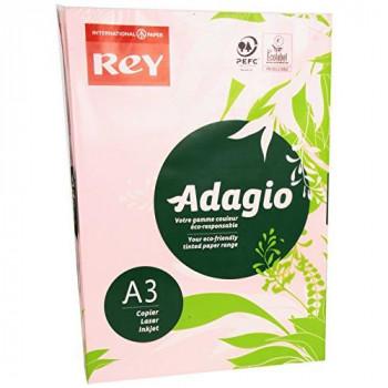 Rey Adagio A3 80gsm Pink RM500