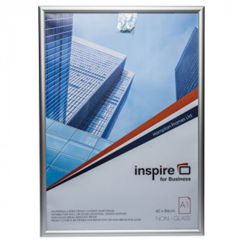 The Photo Album Company SNAPA1S A1 Inspire for Business Aluminum Snap Frame