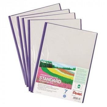 Pentel Recycology A4 Presentation File with 7 Pocket - Black