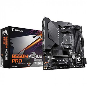 Gigabyte B550M AORUS PRO mATX Motherboard for AMD AM4 CPUs