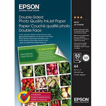 Epson Double-Sided Photo Quality Inkjet Paper A 4, 50sheets 140 g