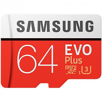 Samsung Memory Evo Plus 64 GB Micro SD Card with Adapter - Standard Packaging