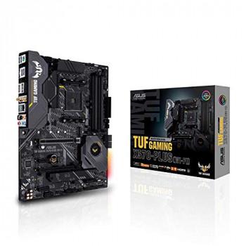 Asus TUF GAMING X570-PLUS (Wi-Fi) AMD X570 AM4 ATX 4 DDR4 HDMI DP XFire Wi-Fi PCIe4 RGB Lighting M.2
