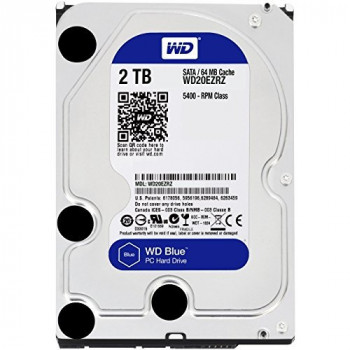 "WD Blue WD20EZRZ 2 TB 3.5"" Internal Hard Drive"