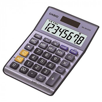 Casio MS-80VERII 8 Digit Currency Desk Calculator