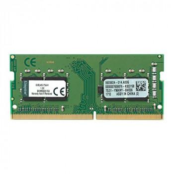 Kingston ValueRAM 4GB No Heatsink (1 x 4GB) DDR4 2400MHz SODIMM System Memory
