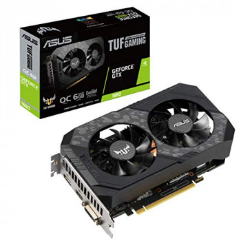 ASUS GeForce GTX 1660 TUF Gaming OC (6GB GDDR6/PCI Express 3.0)