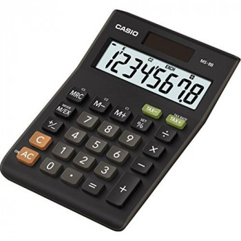 Casio MS-8B 8 Digit Tax Desk Calculator
