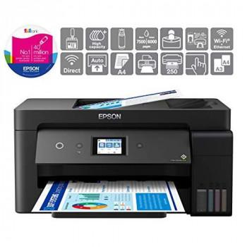 Epson EcoTank ET-15000 A3+ Print/Scan/Copy/Fax Wi-Fi Printer, Black