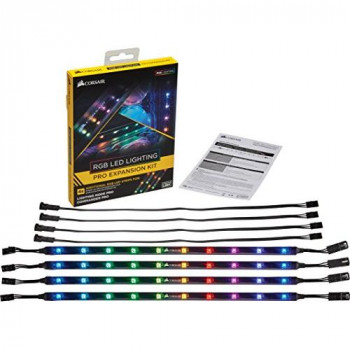 Corsair CL-8930002 RGB LED Lighting PRO Expansion Kit - Black