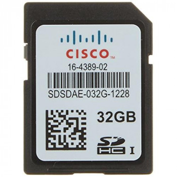 Cisco Flash Memory Card - 32 GB - SD - for Ucs C460 M4 Rack Server (UCS-SD-32G-S=)