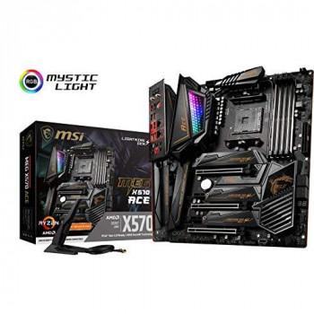 MSI MEG X570 ACE AMD AM4 DDR4 SLI/CF M.2 USB 3.2 Gen 2 Wi-Fi 6 ATX Gaming Motherboard