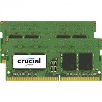 Crucial 32GB Kit (16GBx2) DDR4 2400 MT/s (PC4-192000) SODIMM 260-Pin Memory - CT2K16G4SFD824A