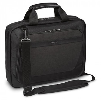 Targus 387 x 25 x 265 mm CitySmart Backpack for 14-Inch Notebook - Black/Grey