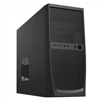CiT Elite Micro Tower 1 x USB 3.0 / 1 x USB 2.0 Black Case with 500W PSU