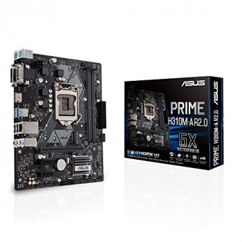 Asus PRIME H310M-A R2.0 Intel H310 1151 Micro ATX DDR4 VGA DVI HDMI M.2