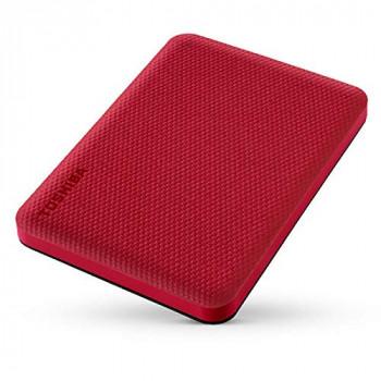 TOSHIBA Canvio Advance 2To 2.5p Red