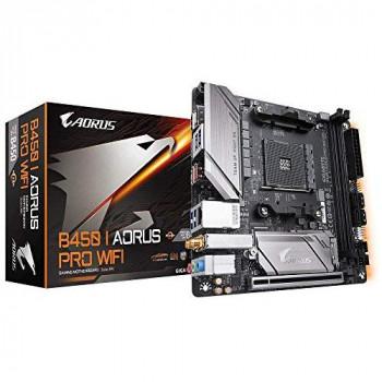 Gigabyte B450 I Aorus Pro Wi-Fi Mini-ITX Motherboard - Black