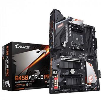 GIGABYTE B450 AORUS PRO AM4/B450/DDR4/S-ATA 600/ATX Socket - Black