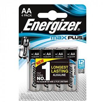 Energizer MaxPlus AA Performance Alkaline batteries - Pack of 4