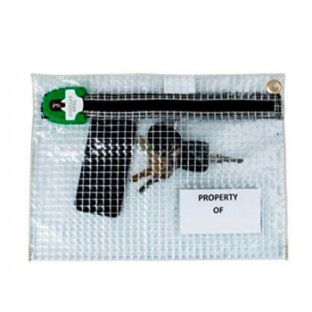 Versapak ASO PLY 320 x 230 mm Personal Effects Security Bag - Clear