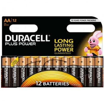 Duracell Plus AA Battery (Pack of 12)