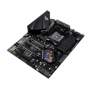 ASUS ROG STRIX B450-F GAMING AM4/B450/DDR4/S-ATA 600/ATX Socket Motherboard - Black