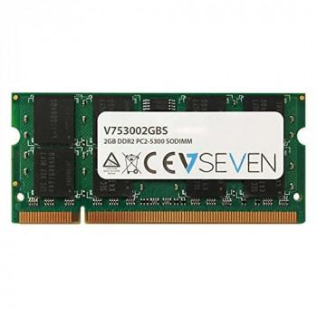 V7 V753002GBS Notebook DDR2 SO-DIMM Memory Module 2GB (667MHZ, CL5, PC2-5300, 200 polig, 1.8 Volt)