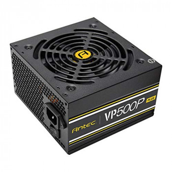 Antec 500W VP500P Plus PSU Sleeve Bearing Fan Single 12V Rail Fully Wired 80+ White