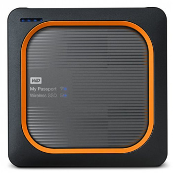 WD My Passport Wireless External Portable Solid State Drive - 1TB