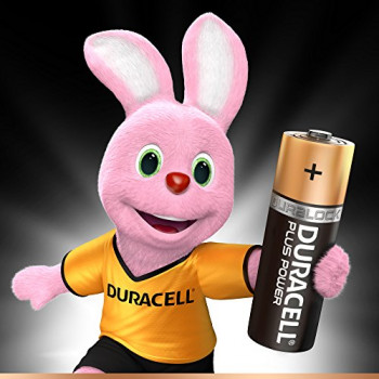 Duracell MN1500B12 Plus Power AA Size Batteries--Pack of 12